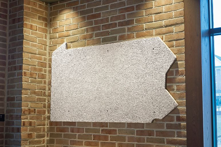 Tectum direct attach wall panels